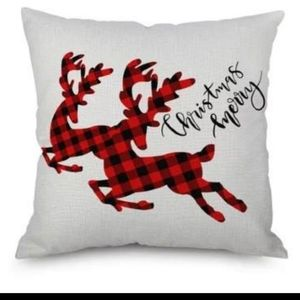 """Christmas Holiday 18x18"""" Accent Pillow Cover"""